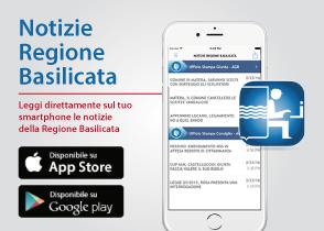 Leggi direttamente sul tuo smartphone le notizie della Regione Basilicata