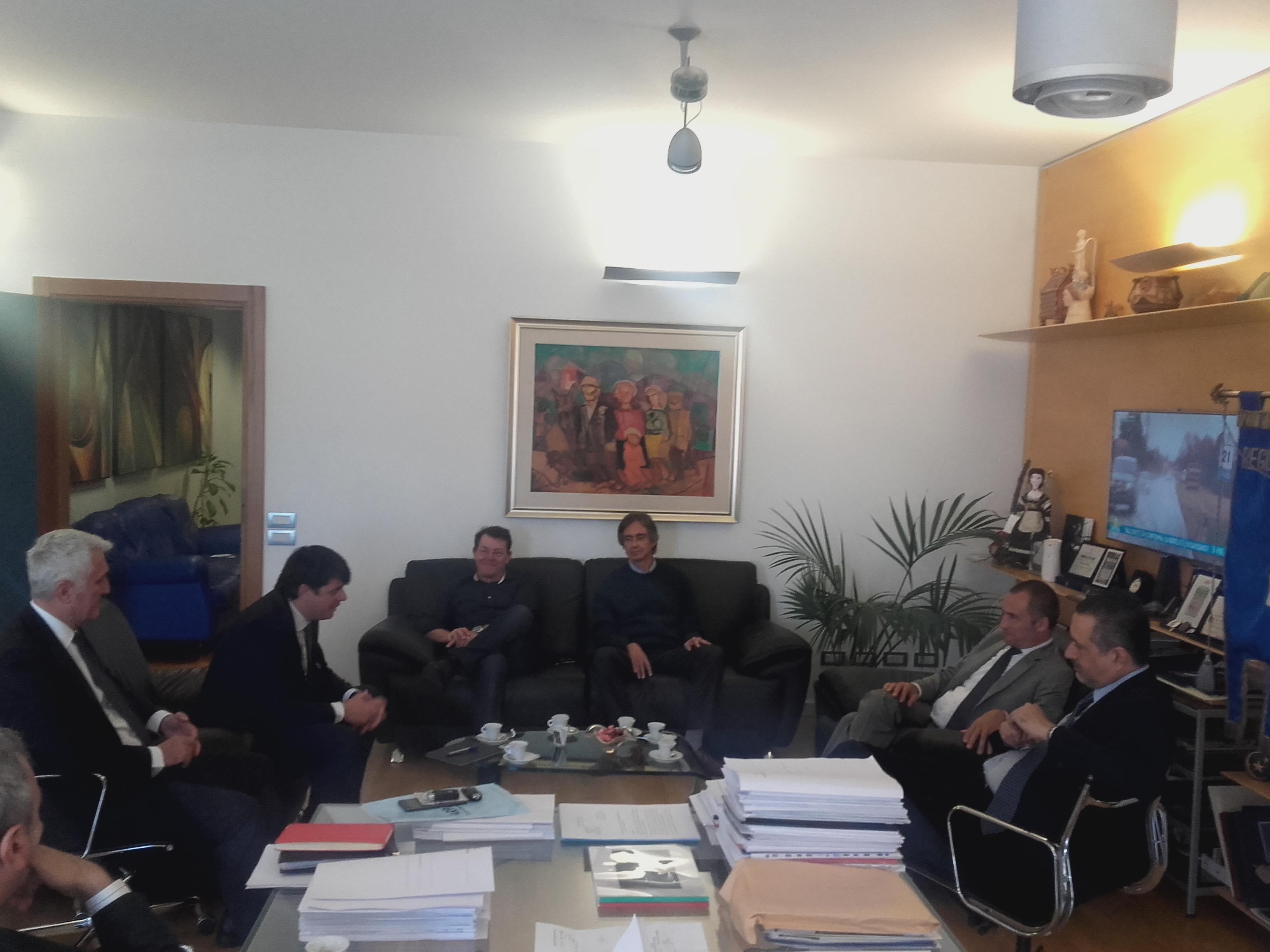 Presidente pittella incontra ufficio presidenza assoarpa for Ufficio presidenza