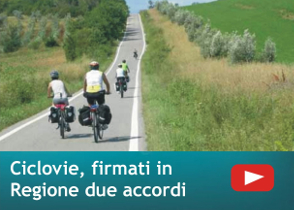 Ciclovie, firmati due accordi