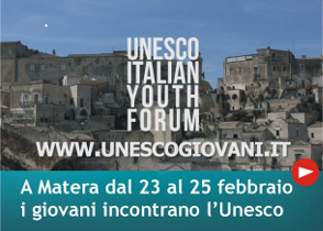Unesco Italian Youth Forum a Matera
